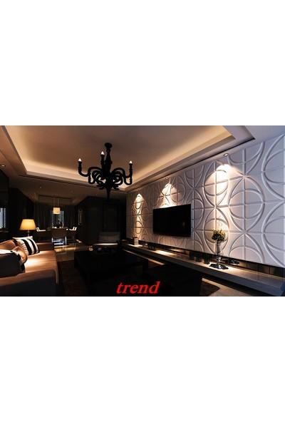 Duvarım Boyanabilir 3 Boyutlu Pvc Duvar Panelli Trend