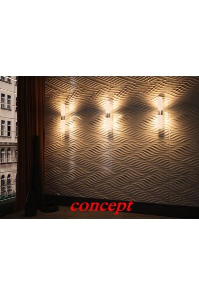 Duvarım Boyanabilir 3 Boyutlu Pvc Duvar Panelli Concept