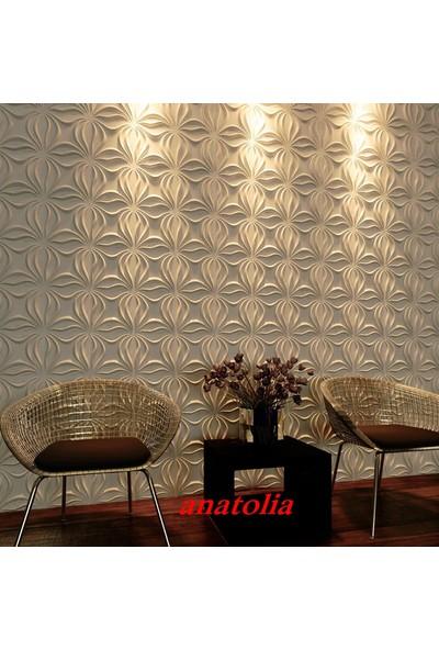 Duvarım Boyanabilir 3 Boyutlu Pvc Duvar Panelli Anatolia