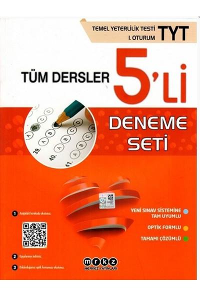 Merkez Yayınları TYT Tüm Dersler 5li Deneme Seti