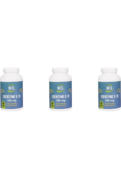 Ncs Coenzyme Q-10 100 mg 90 Tablet Alpha Lipoic Acid L Carnitine Koenzim 3 Kutu 270 Tablet