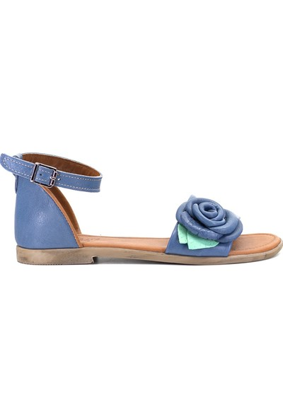 Eşle 9Y-Z-DPP03 Kadın Sandalet Mavi