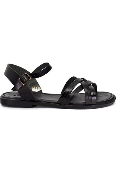 Eşle 9Y-Z-VRL118 Kadın Sandalet Siyah