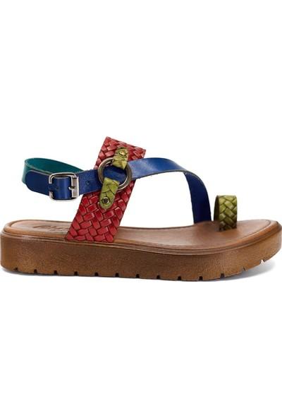 Eşle 9Y-Z-VRL311 Kadın Sandalet KarışıkÇok renkli