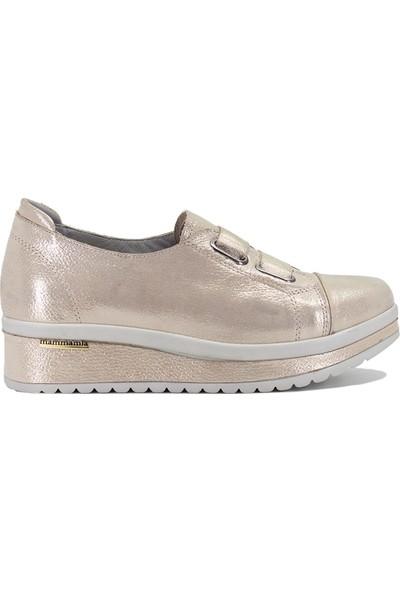 Mammamia D19YA-795 Kadın Spor Ayakkabı Bej