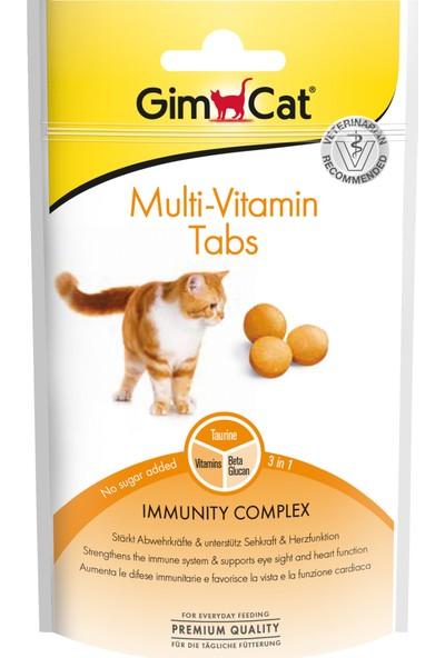 Gimcat Kedi Ödül Tableti Multivitamin 40Gr