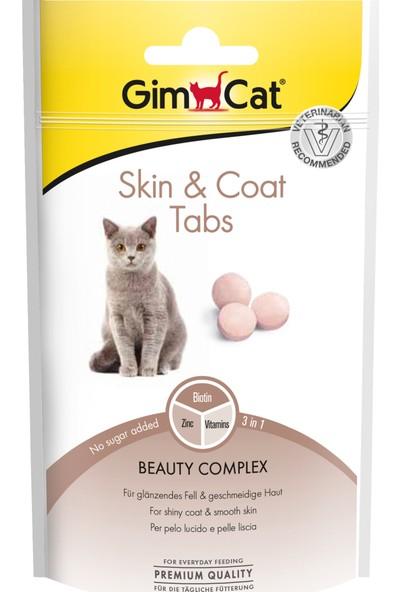Gimcat Kedi Ödül Tableti Skin & Coat 40Gr