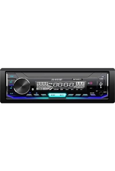 Jameson JS-9151BT Bluetooth / Usb / SD / Radyo Oto Teyp