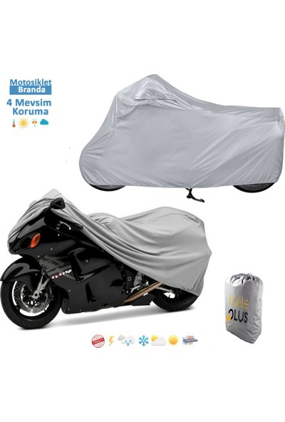 KalitePLUS Honda Cbr 600 F Sport Motosiklet Branda