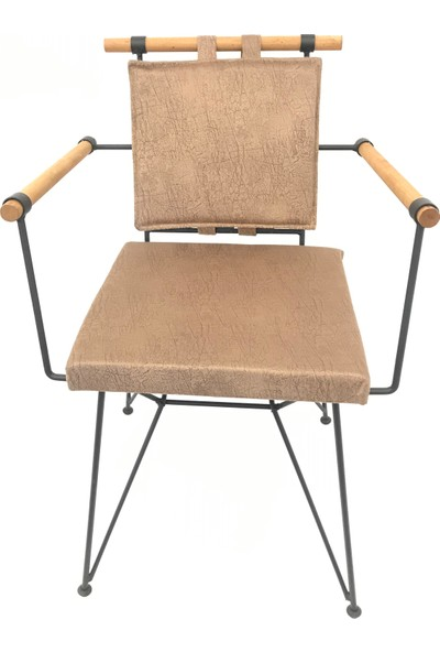 Sers Mobilya Penyes Ahşap Kollu Sandalye