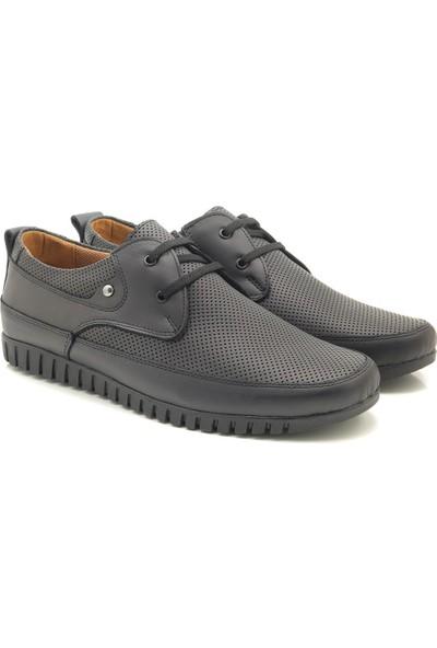 Man Hakiki Deri U5200 Yazlık Delikli Erkek Comfort Ayakkabı