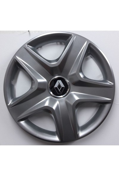 """Sjs Renault Symbol 14"""" Çelik Jant Görünümlü Kırılmaz Esnek Jant Kapağı Takımı"""
