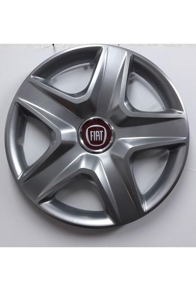 """Sjs Fiat Albea 14"""" Çelik Jant Görünümlü Kırılmaz Esnek Jant Kapağı Takımı"""