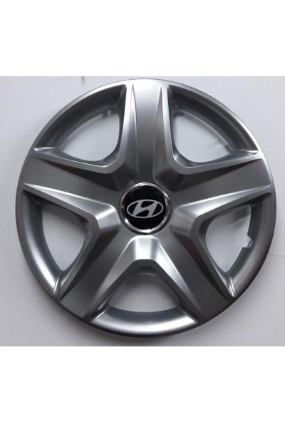 """Sjs Hyundai İ20 14"""" Çelik Jant Görünümlü Kırılmaz Esnek Jant Kapağı Takımı"""