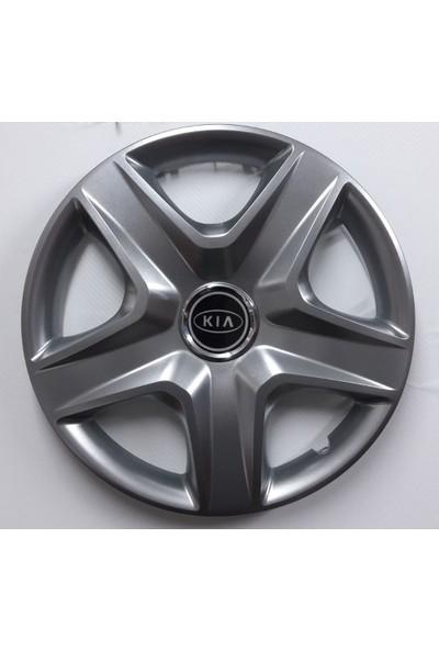 """Sjs Kia Picanto 14"""" Çelik Jant Görünümlü Kırılmaz Esnek Jant Kapağı Takımı"""