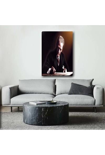 Piri Sanat Atatürk Kanvas Tablo