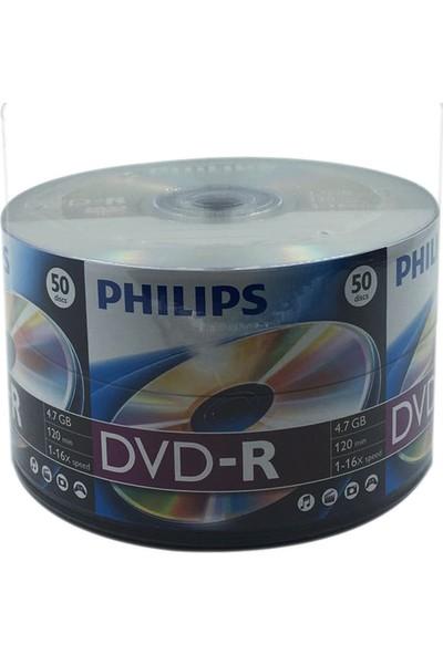 Philips 50'lik 4.7 GB DVD-R 1 Koli (12 Paket)