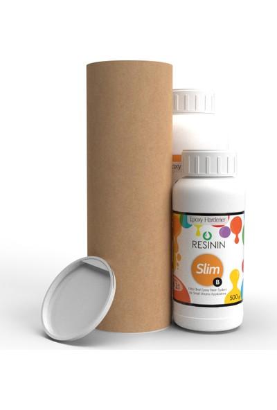 Resinin Slim 1500 Gr A+B Ultra Şeffaf Epoksi Reçine