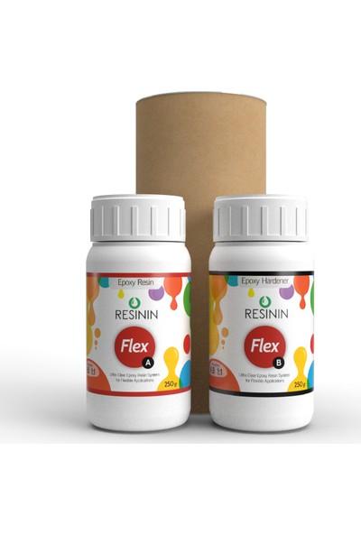 Resinin Flex 500 Gr A+B Ultra Şeffaf Epoksi Reçine (Esnek Hacim)