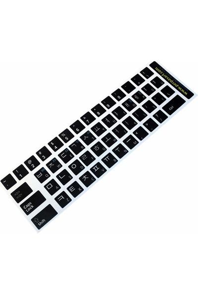 Notebookuzman Korece Türkçe Klavye Sticker Siyah Renk Notebook Ve Pc Uyumlu