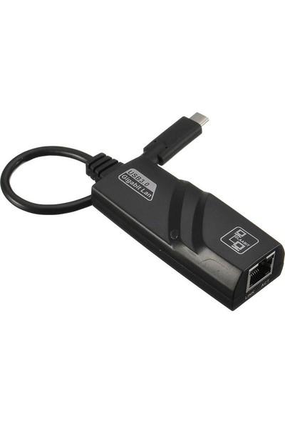 Onten Type C 3.1 To Gigabit Rj45 Lan Çevirici Macbook Uyumlu 1000 Mbps Yüksek Hızlı Ethernet Dönüştürücü Adaptör