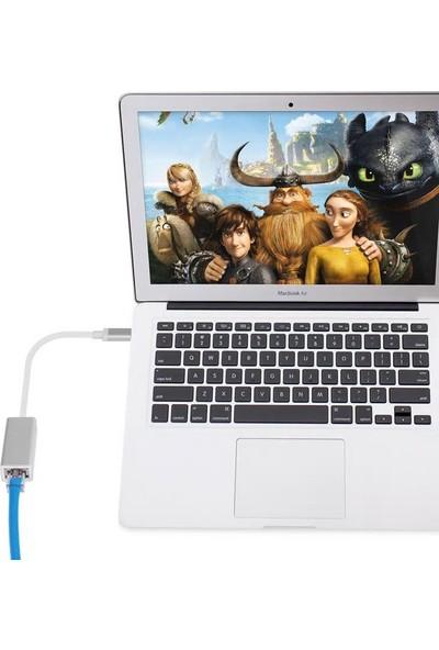 Onten Type C 2.0 To Ethernet Lan Çevirici Macbook Uyumlu 100 Mbps Yüksek Hızlı Rj45 Dönüştürücü Adaptör