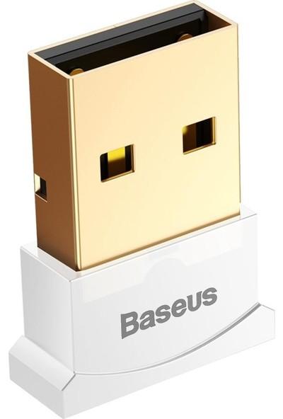 Baseus Mini Usb Bluetooth 4.0 Pc Kulaklık Gamepads Dongle Alıcı - Beyaz