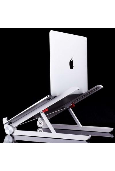 iDock N28 Taşınır Katlanır Ayarlı Macbook Laptop Bilgisayar Standı