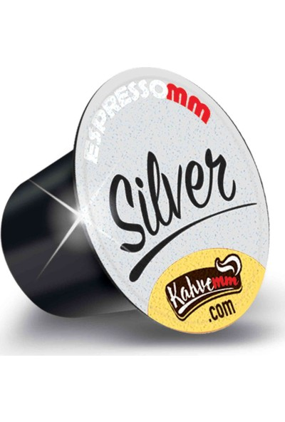 ESPRESSOMM Silver Kapsül Kahve (10 Adet) - Nespresso Uyumlu