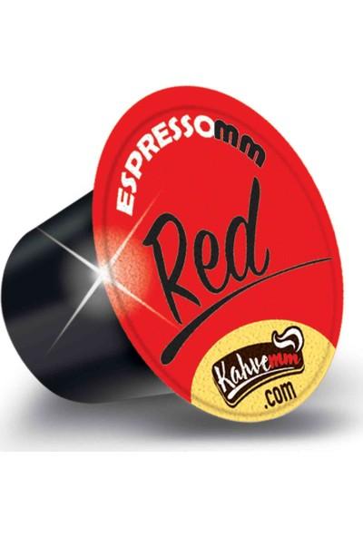 ESPRESSOMM Red Kapsül Kahve (10 Adet) - Nespresso Uyumlu