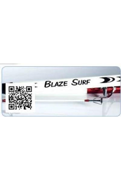 Yuki Blaze Surf 4.20m 100-250gr Atarlı Surf Kamış (CSBZ42)