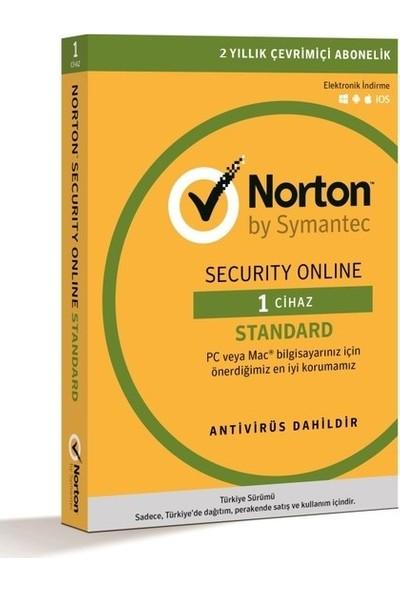 Norton Security Online Standard 1 Cihaz 2 Yıl