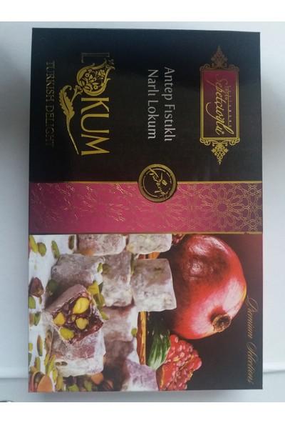 Erdem Sepetçioğlu Antep Fıstıklı Narlı Çifte Kavrulmuş Lokum 300 gr