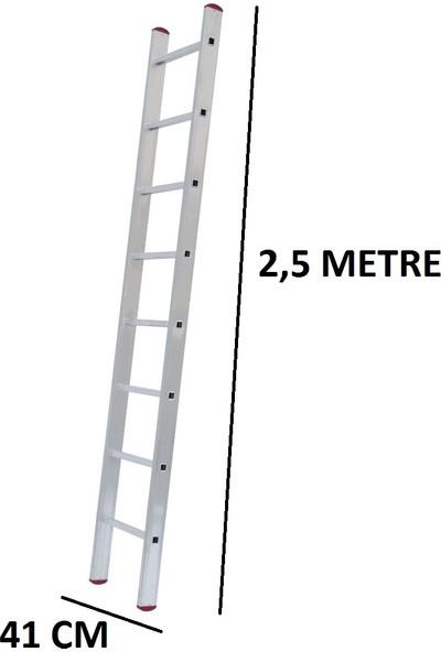 Beykon Tek Parça 2.5 Metre Alüminyum Merdiven(Ptt Merdiveni)