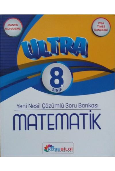 LGS 8. Sınıf Yeni Nesil Tamamı Çözümlü Ultra Matematik Soru Bankası