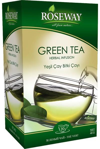 Roseway Yeşil Çay Green Tea 20 Fincan