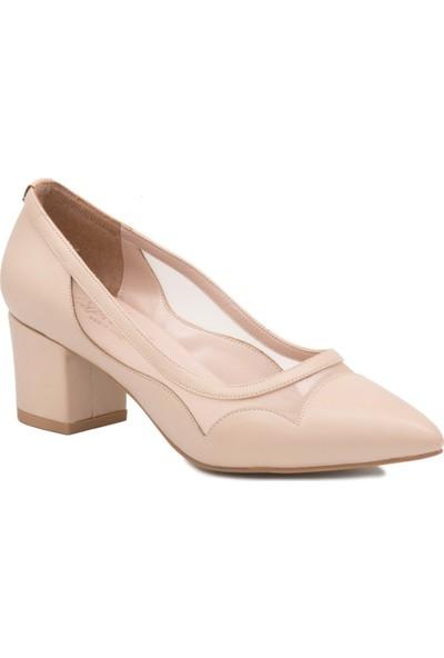 Gedikpaşalı Ofz 701 Bej Kadın Klasik Ayakkabı