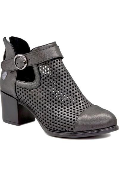 Mammamia D19Ya 4295 Platin Kadın Klasik Ayakkabı
