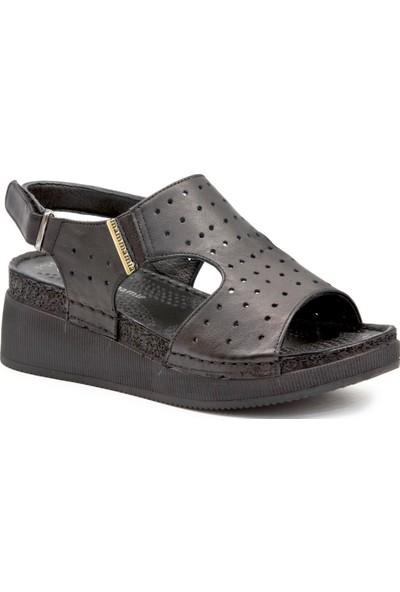Mammamia D19Ys 1135 Siyah Kadın Terlik Sandalet