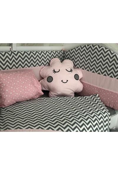 Mini Baby Figürlü Pembe Bebek Uyku Seti 11 Parça