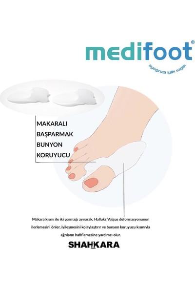 Medifoot Makaralı Başparmak Bunyuon Kemik Koruyucu (Çift)