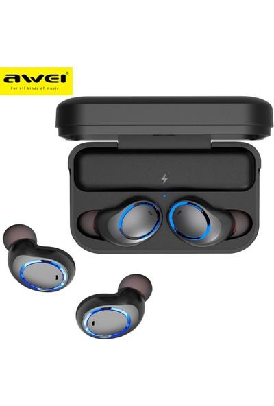 Awei T3 Air Tws Kulakiçi Mini Bluetooth V 5.0 Şarj Standlı İkili Kulaklık
