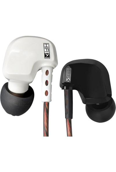 Kz Hd9 Hi-Fi Bakır Sürücülü Mikrofonlu Kulakiçi Kulaklık - Siyah