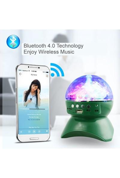 Owwotech Ledli Bluetooth Speaker Usb-Tf-Fm-389