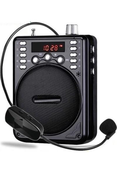 Owwotech Nostarji Bluetooth Speaker Kulaklık Hediyeli Usb-Tf-Fm-396