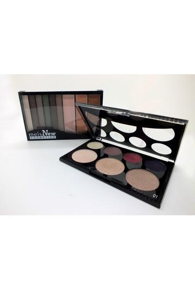 Meis New Cosmeties Eyeshadow High-Light Powder (01)