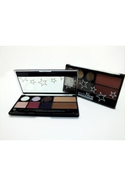 Meis New Cosmeties Eyeshadow/Blush/Highlighter (01)