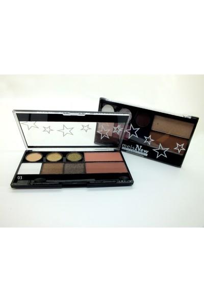 Meis New Cosmeties Eyeshadow/Blush/Highlighter (03)