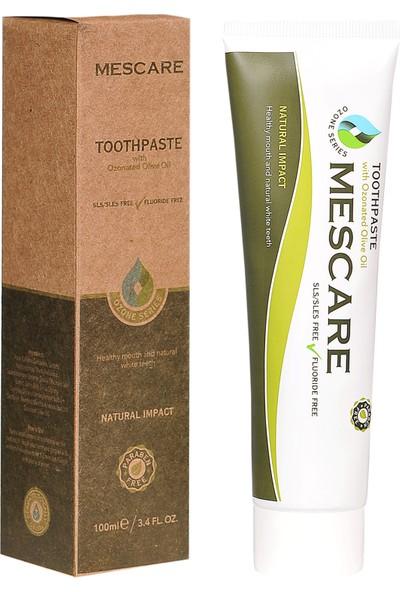 Mescare Doğal Ozonlu Diş Macunu - 100 ml - Prabensiz, Florürsüz