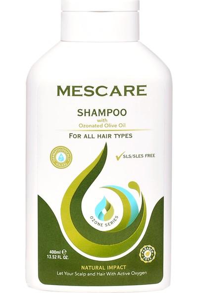 Mescare Doğal Ozonlu Şampuan 400 ml - Parabensiz, Sülfatsız